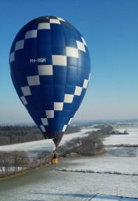 Ballonvaren in de winter